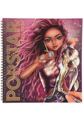 Top Model Popstar Top Model Popstar Coloriage et création Depesche 11462