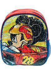 Sac à dos 2 en 1 Mickey Roadster Racers avec sequins réversibles Toybags T300-096