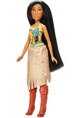 Muñeca Princesas Disney Pocahontas Brillo Real Hasbro F0904