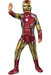 Iron Man Endgame Classic Costume pour enfants T-L Rubies 700649-L