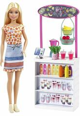 Barbie Smoothies Stand Mattel GRN75