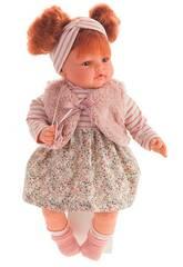 Gilet de poupée Beni Redhead 42 cm. Antonio Juan 16176