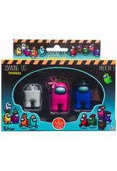 Among Us Pack 3 Figuras Bizak 6411 2021