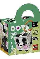 Lego Dots Panda Backpack Ornament 41930