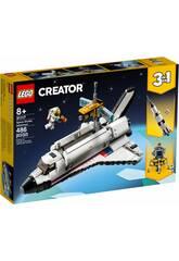 Lego Creator Aventura en Lanzadera Espacial 3 en 1 31117