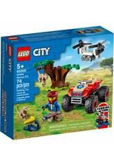 Lego City Wild Life Rescate de la Fauna Salvaje: Quad 60300