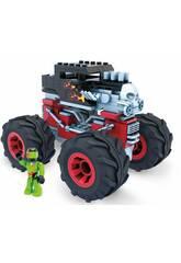 Mega Construx Hot Wheels Monster Trucks Bone Shaker Mattel GVM27