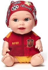 Baby Pelón La Roja Doll Juegaterapia 188