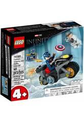 Lego Marvel Captain America vs Hydra 76189