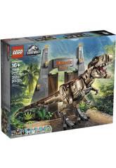Lego Jurassic World Parco Giurassico Caos del T. Rex 75936