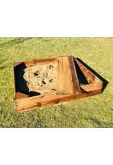 Caixa de Areia Kassi M 120x120 cm. de Masgames MA600080