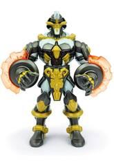 Gormiti Figura Elemental Titan con Luces y Sonidos 22 cm. Famosa GRA10000