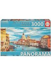 Puzzle 3.000 Canal Grande di Venezia Panorama Educa 19053