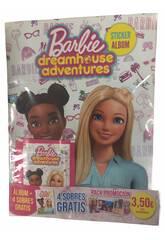 Barbie Dreamhouse Adventures Starter Pack Álbum con 6 Sobres Panini 9788427872356