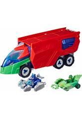 PJ Masks Tracker Truck avec figurines et véhicules Hasbro F2121