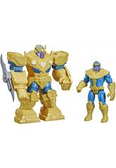 Avengers Figura Mech Strike Infinity Thanos Hasbro F0264