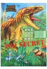 Dino World Diario con Código Secreto Depesche 11569