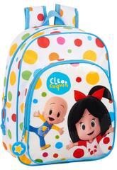Sac à dos pour enfants adaptable au trolley Cleo et Cuquín Safta 612059185