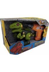Set d'assemblage dinosaure vert