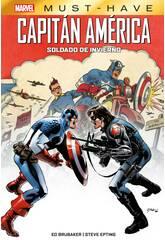 Capitán América Soldado de Invierno Marvel Must Have Panini