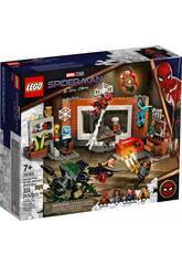 Lego Spiderman en el Taller del Santuario 76185