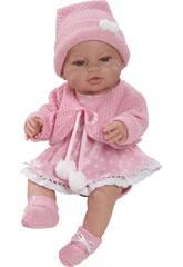 Bambola Rebeca Recién Nacida 40 cm Berbesa