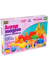Arena Mágica 1 Kgr. Rosa con Accesorios 16 piezas