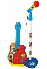 Patrulha Pata Micro e Guitarra Reig 2510
