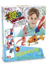 Ido 3D Vertical Design Studio 4 boligrafos 3D