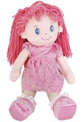 Muñeca de Trapo 50 cm. Pelo Lana