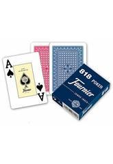Baraja de Cartas 818 Poker 55 Cartas Fournier F21643