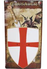 Armes Médiévales Avec Bouclier et Épée
