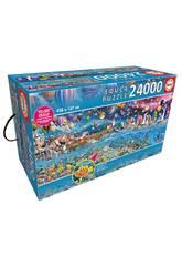 Puzzle 24000 Vie Educa 13434