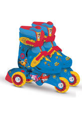 Super Wings Patins Roller 2 En 1 T27-30