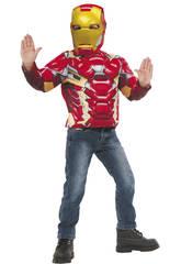 Disfraz Iron Man Pecho Musculoso Rubies 31720
