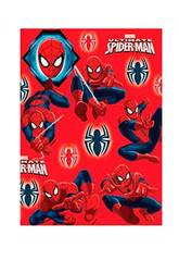 Papel de Embrulho Spiderman 200 x 70 cm.