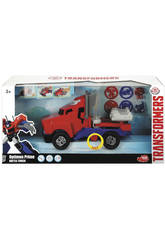 Transformers Optimus Camion 23 cm