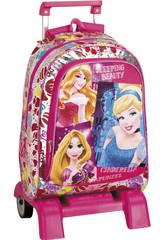 Day Pack Con Soporte Princesas Disney