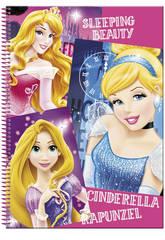 Quaderno A4 80 fogli Principesse Disney