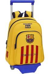 Mochila Infantil com Rodas F.C. Barcelona 2ª Unif.