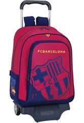 Mochila Grande com Rodas F.C. Barcelona