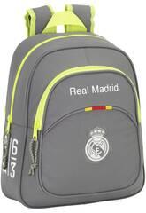 Mochila Infantil Real Madrid Grey