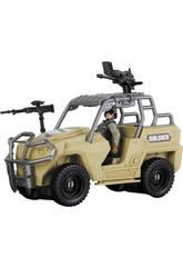 Soldier Force Tanque Avec Figurine et Accessoires