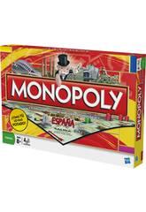 Jeu de Société Monopoly Espagne HASBRO GAMING 01610