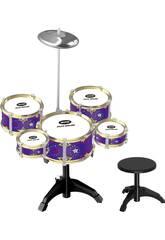 Batteria Jazz 5 Tamburi e piatto