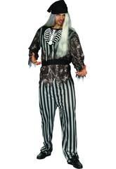 Disfraz Pirata Malvado Hombre Talla XL