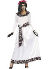 Erwachsenes Kostüm L Tote Braut