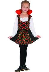Disfraz Vampiresa Niña Talla XL