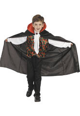 Disfraz Vampiro Rosas Niño Talla M