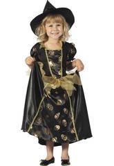 Hexe Schädel Kostüm Baby Größe M
